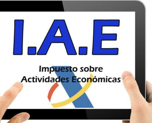 Autónomos pagar el IAE, impuesto sobre actividades economicas, fideco descuento de pagares