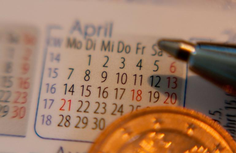 calendario, fideco inversiones, descuento de pagares