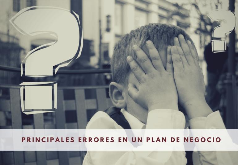 errores plan de negocio