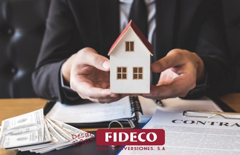hipoteca, fideco inversiones, descuento de pagares