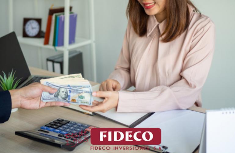 concurso de acreedores, fideco inversiones, descuento de pagares